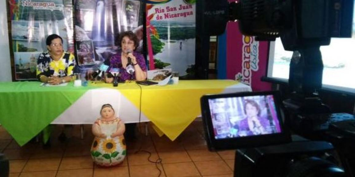 """CANATUR presente en conferencia de prensa """"Nicaragua Nuestra, Verano 2015"""""""