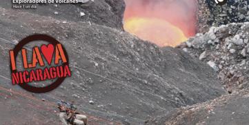 Red social Snapchat se vuelve loco con geofiltros del Volcán Masaya.