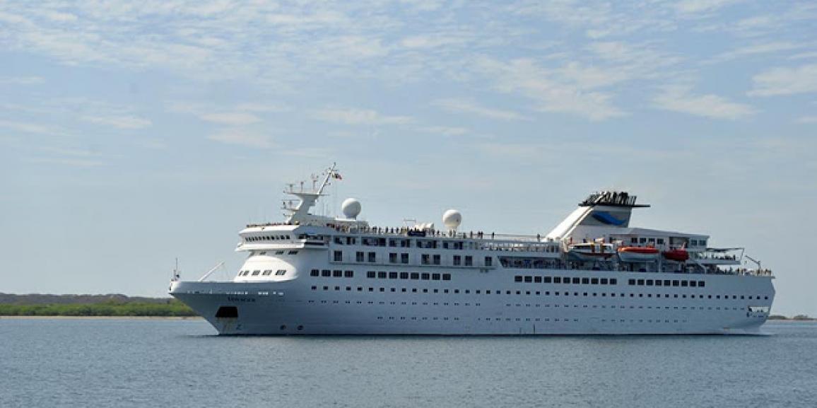 Llega al puerto de Corinto el Crucero M.V VOYAGER