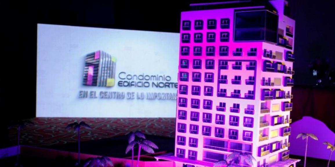 Condominio Edificio Norte, primer proyecto de apartamentos en el Centro de la Capital