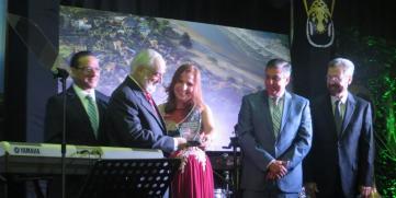 CANATUR Reconoce Aporte de Carlos Pellas al Turismo de Nicaragua