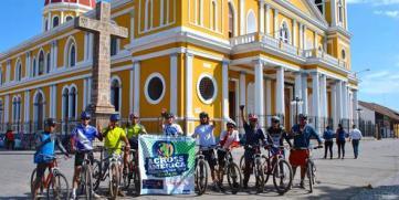 Exitoso 1er Entrenamiento 2016 Across American Mountain Bike Tour Nicaragua