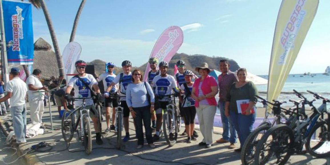 Inicia Across America Mountain Bike Tour Nicaragua
