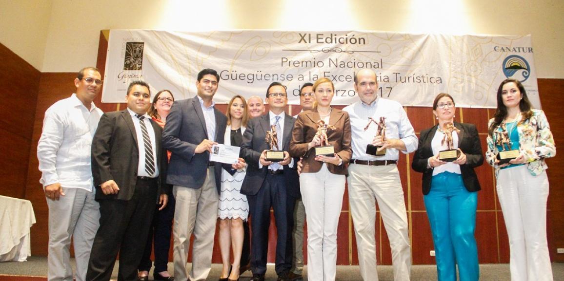 Premio Nacional Güegüense a la Excelencia Turística XI Edición