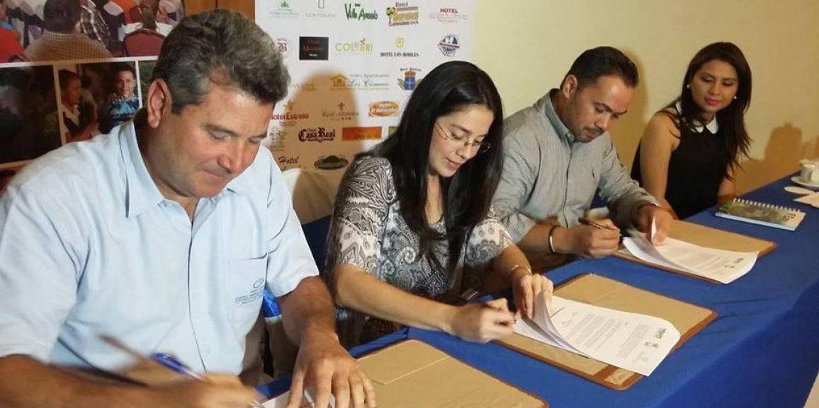 HOPEN  firma convenio con VOS TV y Fundación Centro Empresarial Pellas.