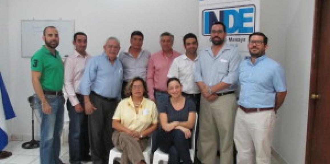 CANATUR FELICITA A INDE POR LA RECIENTE ELECCIÓN DE LOS  PRESIDENTES DE CAPITULOS DE RIVAS Y MASAYA