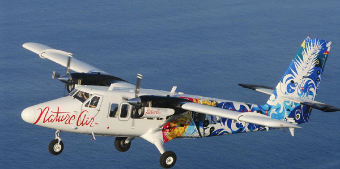 Nature Air volará diariamente a Nicaragua
