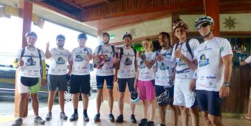 De Nicaragua para el Mundo – Inicia Across América: Cruzando el país en bicicleta