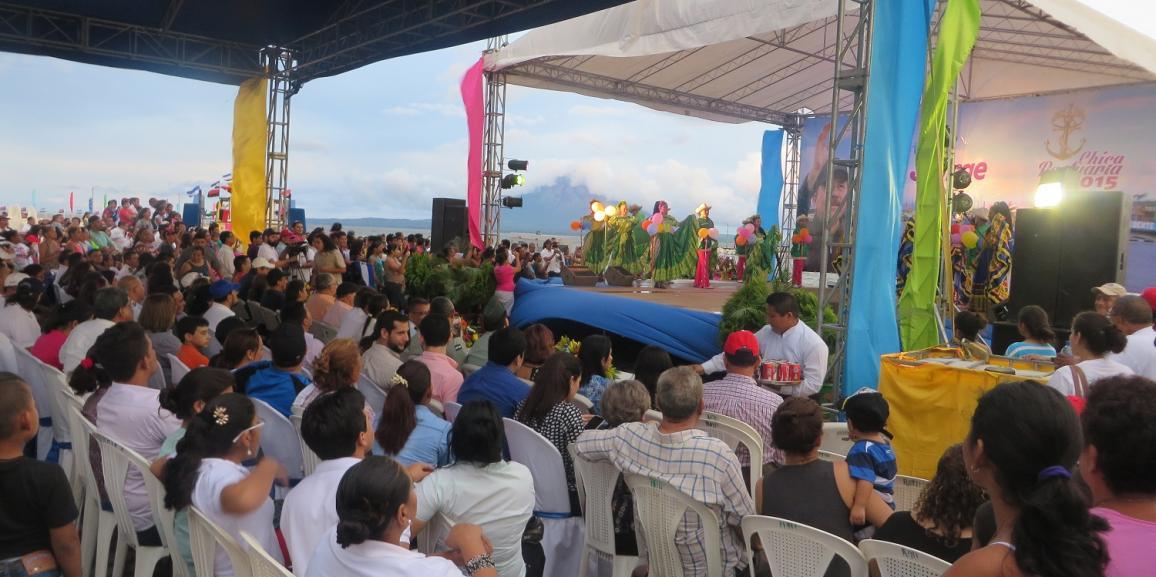 Inauguran obra de reconstrucción del Puerto San Jorge- Rivas