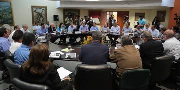 Banco Central de Nicaragua y Sector Privado coordinan acciones para establecer metas de producción 2015
