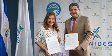 FUNIDES y CANATUR  firman convenio de colaboración en pro del Turismo en Nicaragua
