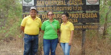 CANATUR realiza gira de campo por la reserva natural complejo volcánico San Cristóbal- Casita